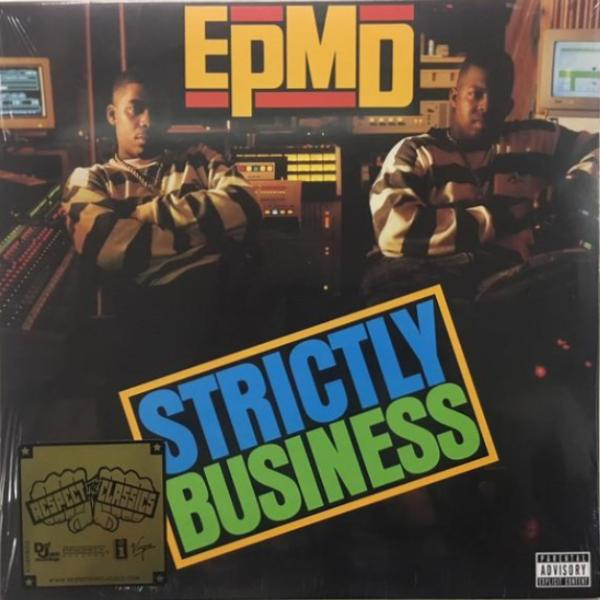EPMD - Strictly Business - 2xLP - Priority Records - B0026619-01