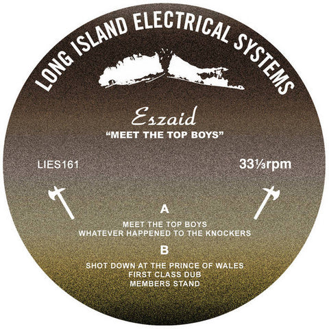 "Eszaid - Meet The Top Boys EP - 12"" - L.I.E.S. Records ‎- LIES161"
