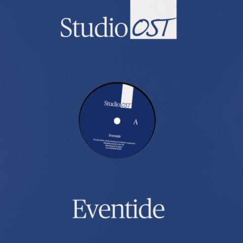 "Studio OST - Eventide / Ascension - 12"" - Lustwerk Music - LWKMUS 005"