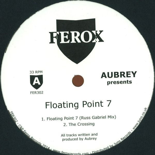 "Aubrey - Floating Point 7 - 12"" - Ferox Records - FER302"