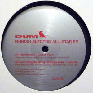 "VA - Finnish Electro All-Star EP - 12"" - Dum Records - DUM 037"