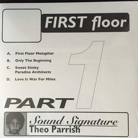 "Theo Parrish - First Floor (Part 1) - 2x12"" - Peacefrog Records - PF076/1XX"