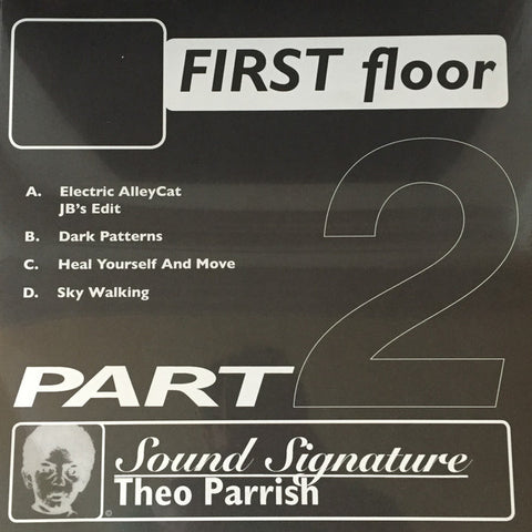 "Theo Parrish - First Floor (Part 2) - 2x12"" - Peacefrog Records - PF076/2XX"