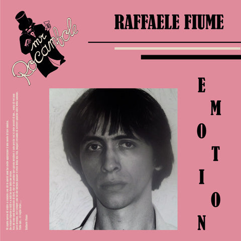Raffaele Fiume - Emotion - LP - I.D. Limited - I.D.L. 021