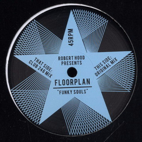 "Robert Hood presents Floorplan - Funky Souls - 12"" - Rush Hour - RH-RH1"