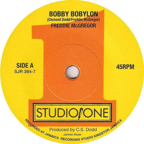 "Freddie McGregor - Bobby Babylon - 7"" - Soul Jazz Records - SJR384-7"