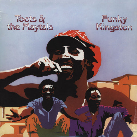 Toots & The Maytals - Funky Kingston - LP - Get On Down - GET 54056 LP