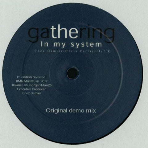 "Gathering - In My System - 12"" - Balance Music - ga01-bm25"