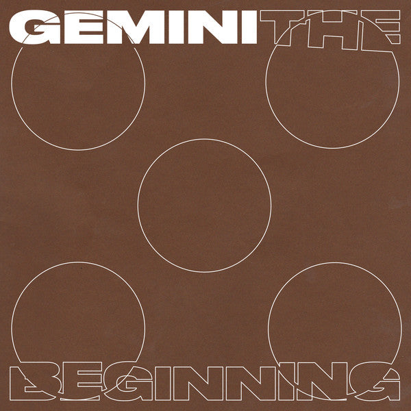 "Gemini - The Beginning - 4x12"" - Anotherday Records - 0007AD"