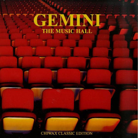 Gemini - The Music Hall - 2xLP - Chiwax Classic Edition - CGTX006