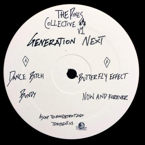 "Generation Next - The Pines Collective V1 EP - 12"" - 7 Days Ent. - 7DAYSGN 1007"