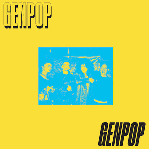 "Genpop - On the Screen - 7"" - Lumpy Records - LR84"