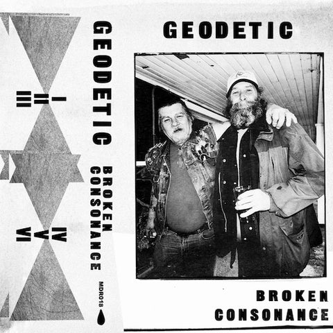Geodetic - Broken Consonance - CS - Maple Death Records - MDR018