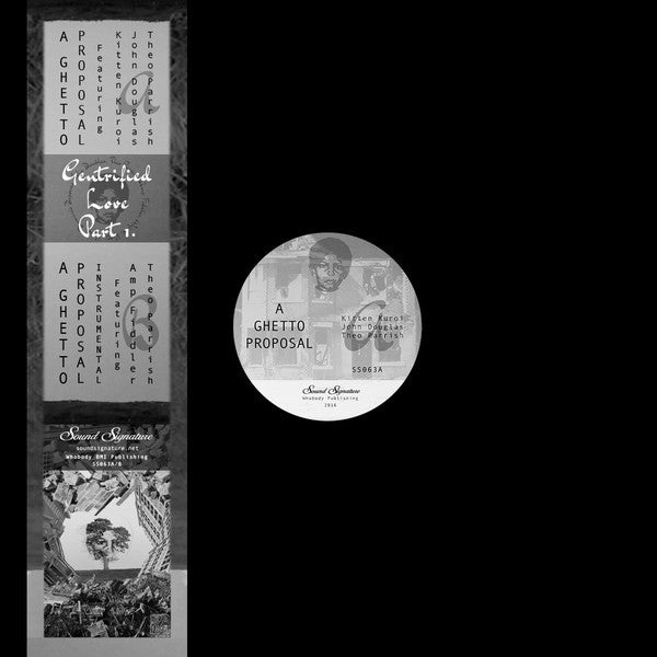 "Theo Parrish - Gentrified Love Part 1 - 12"" - Sound Signature - SS063"