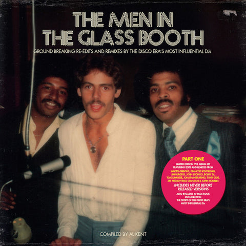"VA - The Men in the Glass Booth (Part One) - 5x12"" box - BBE - BBE191CLP1"