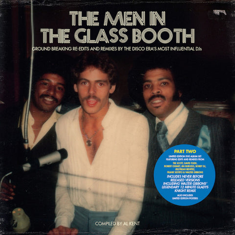 "VA - The Men in the Glass Booth (Part Two) - 5x12"" box - BBE - BBE191CLP2"