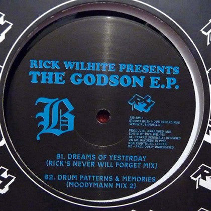 "Rick Wilhite - The Godson EP - 12"" - Rush Hour Recordings - RH-RW 1"