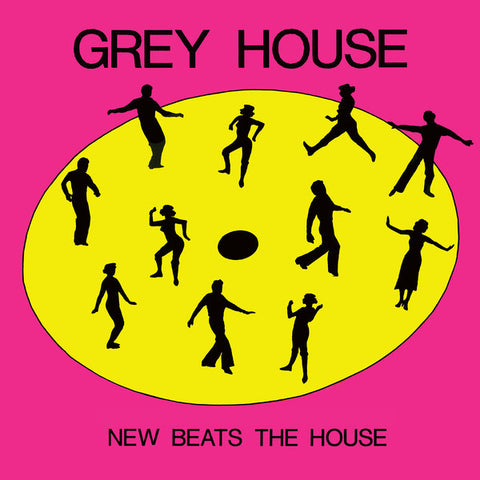 "Greyhouse - New Beats The House - 12"" - Dark Entries - DE-166"