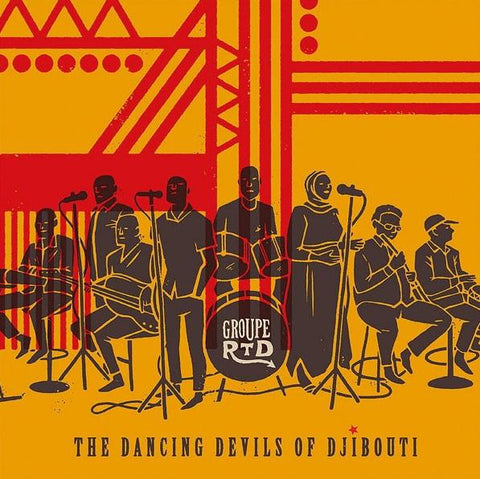 Groupe RTD ‎- Dancing Devils Of Djibouti - 2xLP - Ostinato Records - OSTLP009