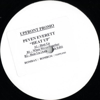 "Peven Everett - Heat Up - 12"" - Bombay Records - BOMB-134"