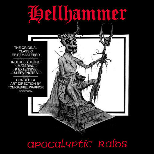"Hellhammer - Apocalyptic Raids EP - 12"" - Noise - NOISELP084"