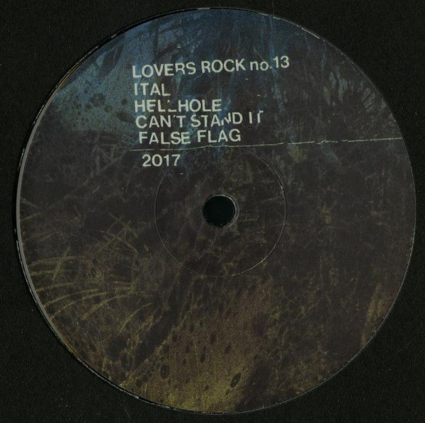 "Ital - Hellhole - 12"" - Lovers Rock - no. 13"