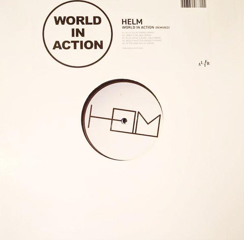 "Helm - World In Action Remixed - 12"" - Alter - ALT37"