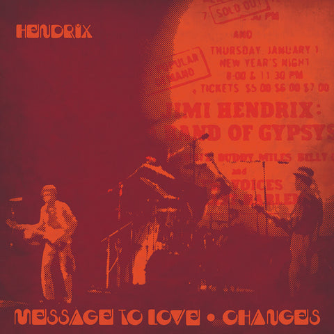 "Jimi Hendrix - Message To Love / Changes - 7"" - Capitol Records - B0031684-21"