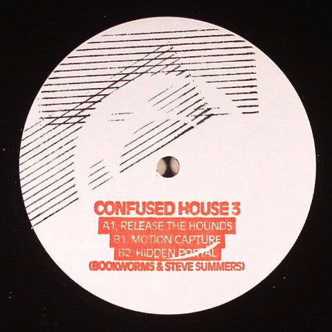 "Bookworms & Steve Summers - Hidden Portal - 12"" - Confused House - CH003"