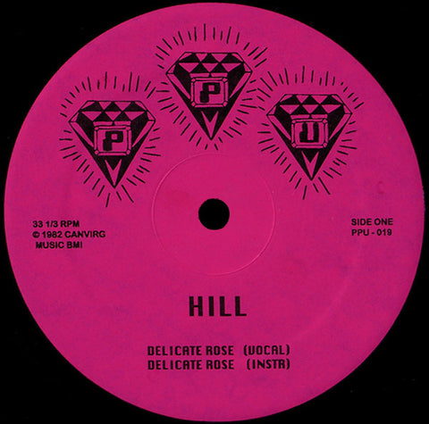 "Hill / Roshell Anderson - Delicate Rose / Wild Dreams - 12"" - Peoples Potential Unlimited - PPU-019"