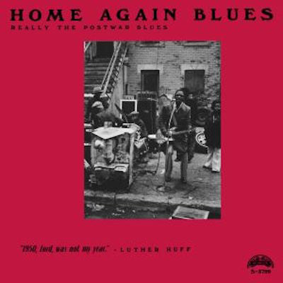 VA - Home Again Blues (Really The Post War Blues) - LP - Mamlish - S 3799