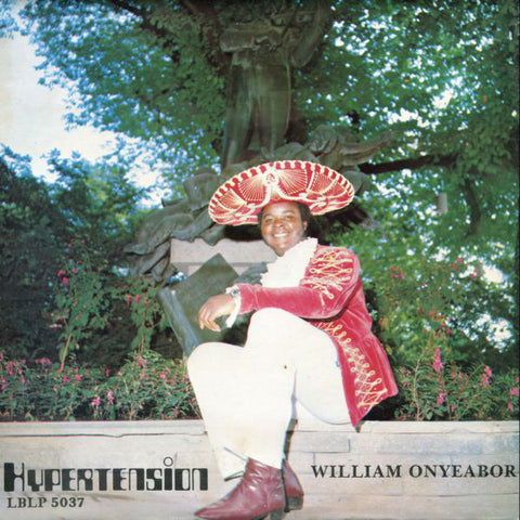 William Onyeabor - Hypertension - LP - Luaka Bop - LBLP 5037