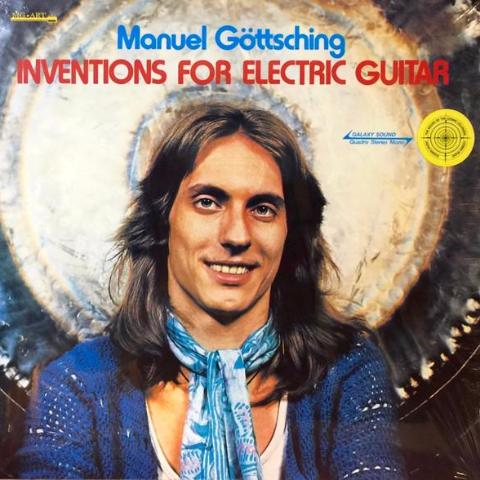 Manuel Göttsching - Inventions for Electric Guitar - LP - MG.ART 901