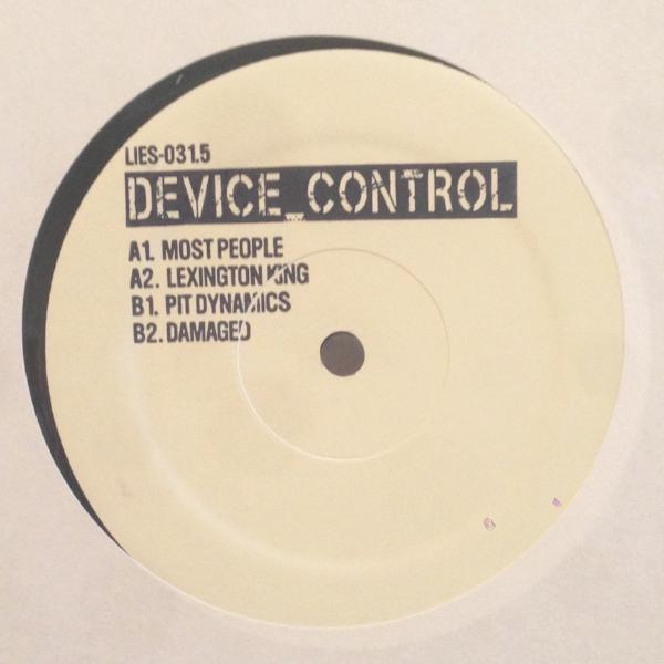 "Device Control - Most People - 12"" - LIES 031.5"