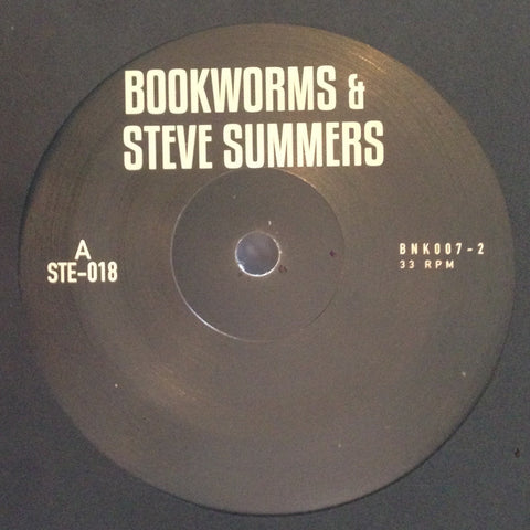 "Steve Summers & Bookworms - 7"" - BANK Records NYC - BNK007-2"