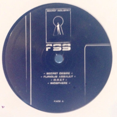 "Franck Sarrio - Secret Industry - 12"" - FSS001"