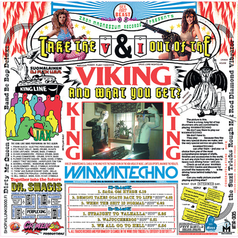 DJ Candle In The Wind - Take The V & I Out Of Viking And What You Get? - LP - Iron Magnesium Records - IMR005
