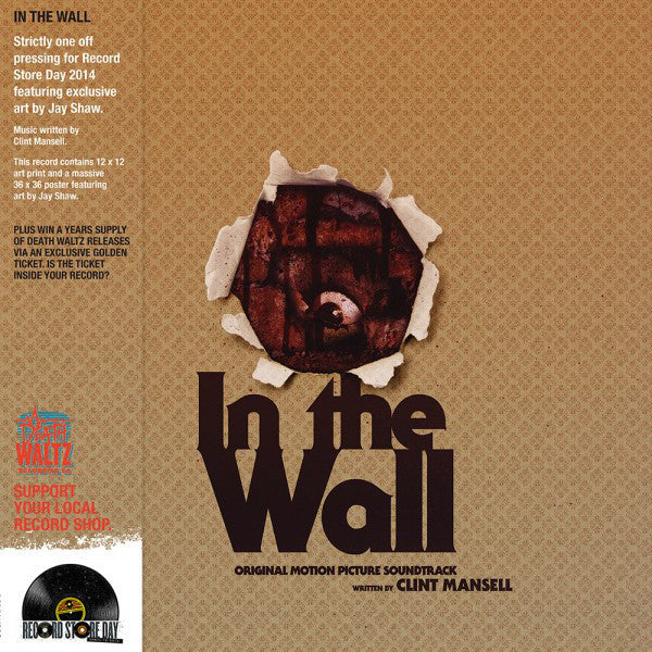 Clint Mansell - In The Wall - LP - Death Waltz Recording Company - RSDDW009