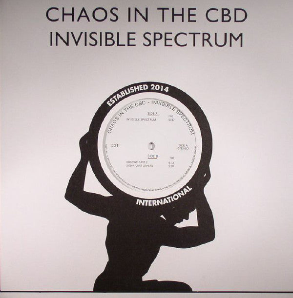 "Chaos in the CBD - Invisible Spectrum - 12"" - Rhythm Section International - RS014"