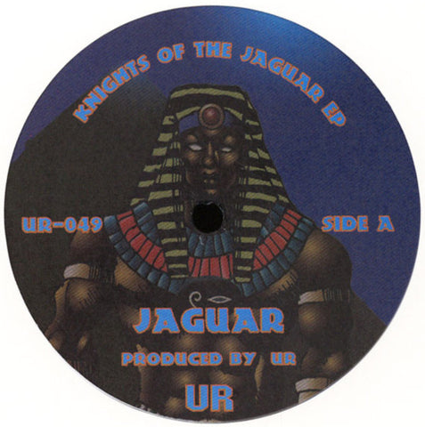 "UR - Knights Of The Jaguar EP - 12"" - Underground Resistance - UR-049"