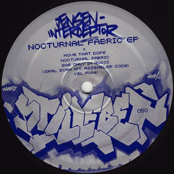 "Jensen Interceptor - Nocturnal Fabric EP - 12"" - Stilleben Records - Stilleben 050"