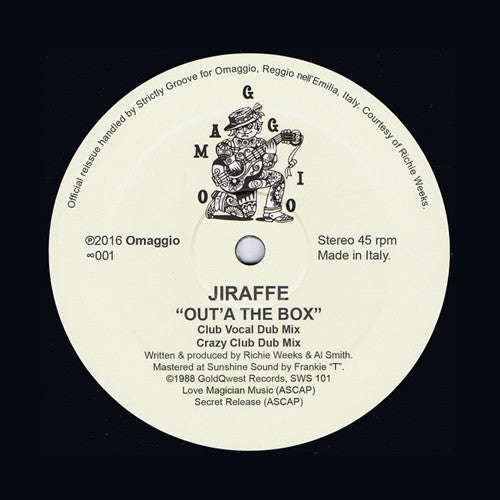 "Jiraffe - Out'a The Box - 12"" - Omaggio - ∞001"