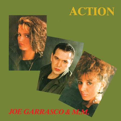 "Joe Garrasco & M.M. - Action - 12"" - Dark Entries - DE-160"