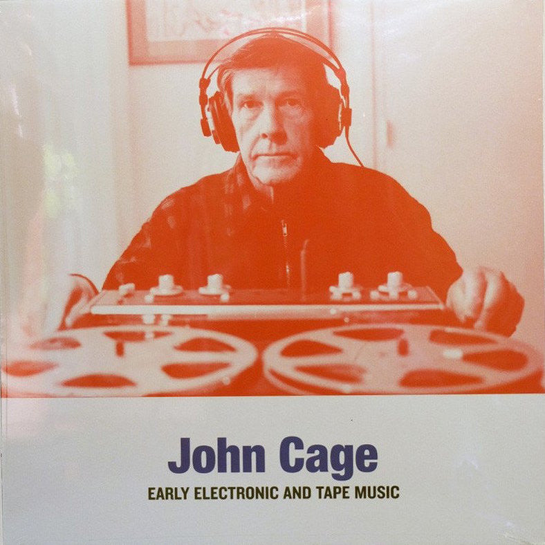 John Cage - Early Electronic and Tape Music - LP - Sub Rosa - SRV361