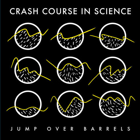 "Crash Course in Science - Jump Over Barrels - 12"" - Dark Entries - DE-102"