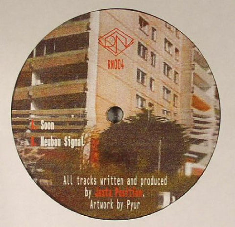 "Juxta Position - Soon - 12"" - Rhythm Nation - RN004"
