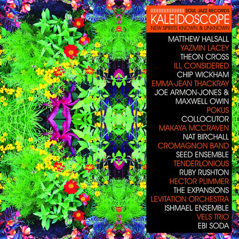"VA - Kaleidoscope (New Spirits Known & Unknown) - 3xLP + 7"" - Soul Jazz Records ‎- SJR LP455-7"