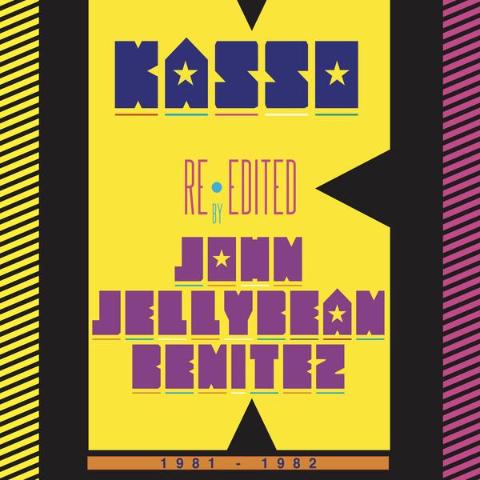 "Kasso - Re-edited by John ""Jellybean"" Benitez 1981-1982 - 12"" - Best Record Italy - BST-X022"