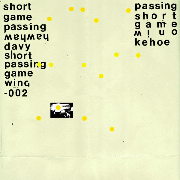 Davy Kehoe - Short Passing Game - LP - Wah Wah Wino - WINO-002