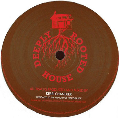 "Kerri Chandler - Back To The Raw - 12"" - Deeply Rooted House - DRH003"